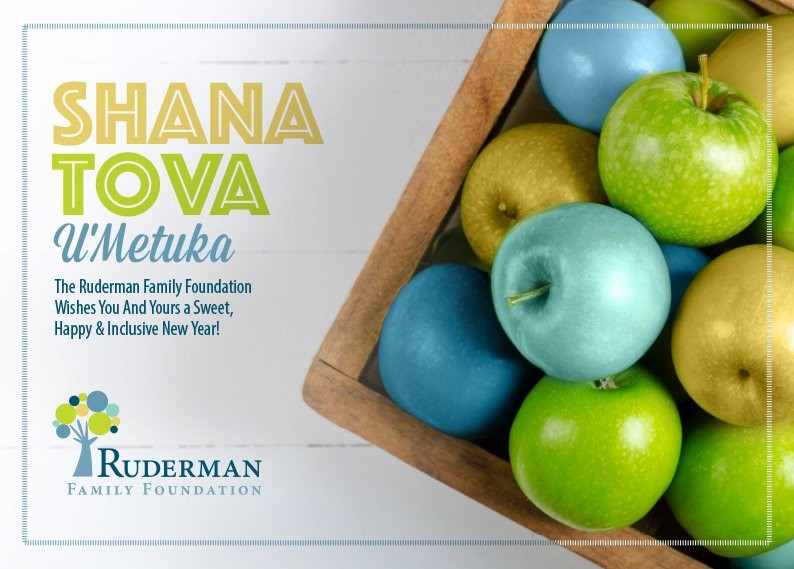 Ruderman Family Fdn On Twitter Drawing Near Jewish New Year From Everyone At The Ruderman Family Foundation We Wish You And Yours A Wonderful And