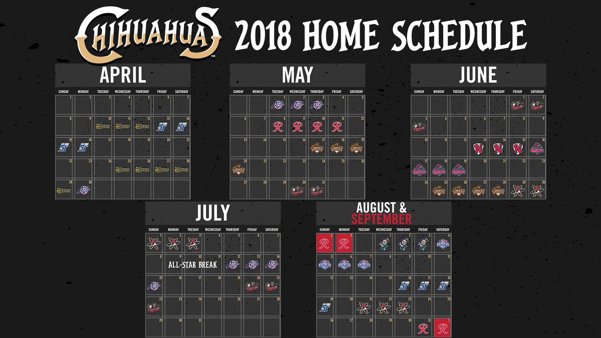 "el paso chihuahuas on twitter: ""we will see you here on april 10 for"