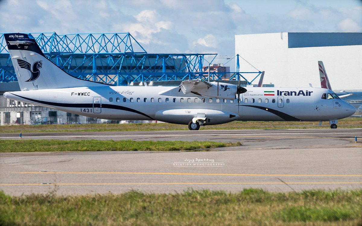 6th @ATRaircraft 72-600 Iran Air, the first #ATR with revisited livery . EP-ITF msn 1431 #Avgeek #Toulouse #Iran #Travel<br>http://pic.twitter.com/0xINkT1GPW