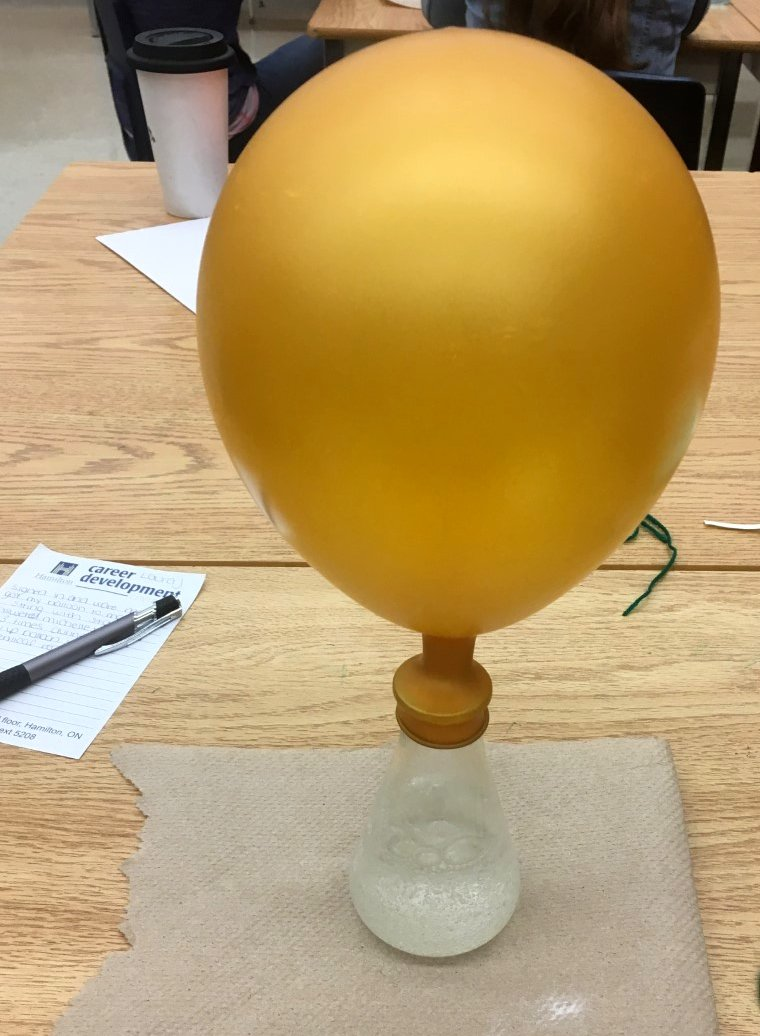 Science is pretty cool. #MotivationalDemo #ChemicalReaction #BrockTeachersCollege<br>http://pic.twitter.com/bVirltXLB7