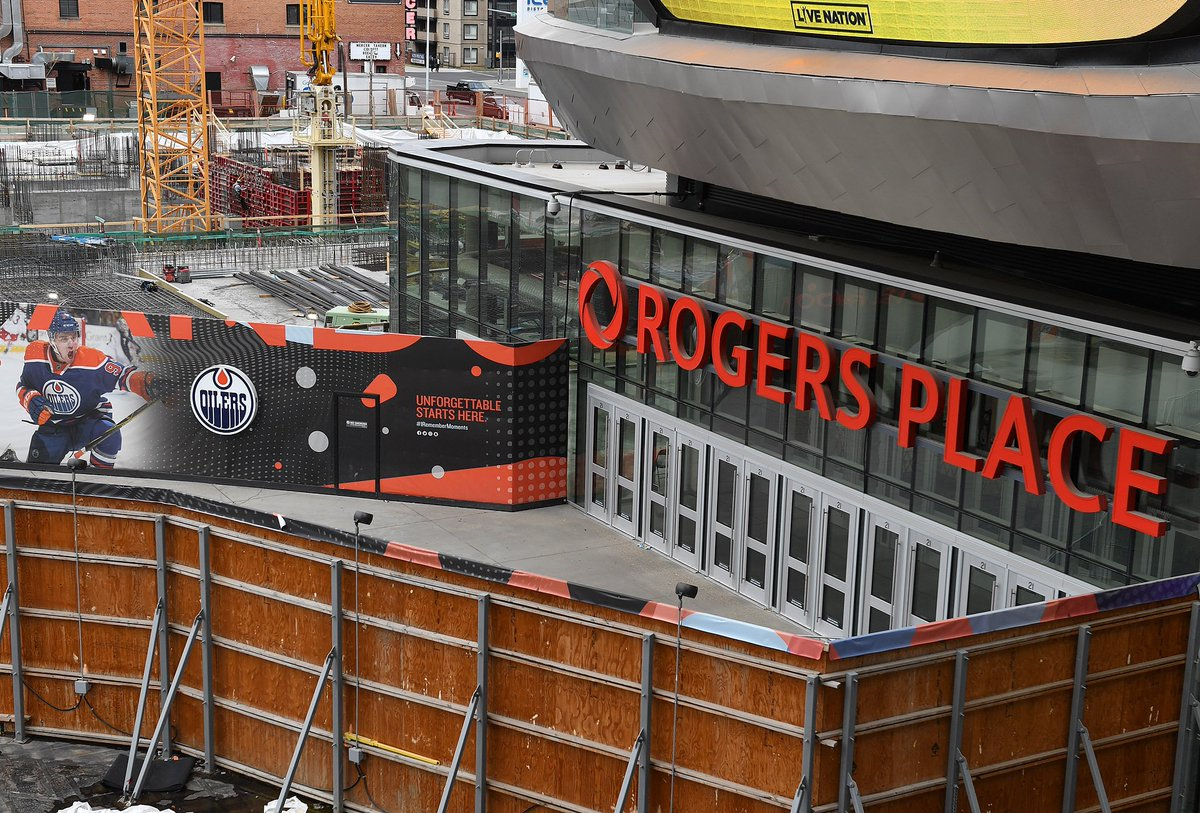 From #UFC215 taking over #RogersPlace to a tour of #IceDistrict, make sure to check out our Weekly Blog:  http://www. rogersplace.com/weekly-blog-co nstruction-updates/ &nbsp; … <br>http://pic.twitter.com/B6JmQa0fOT