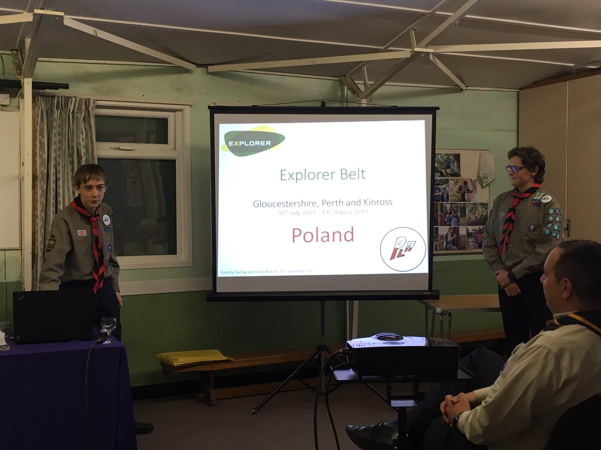 Hearing about the Explorer Belt from 2 young people from Cheltenham  #iScout #achieve <br>http://pic.twitter.com/F6O8a9xBUC