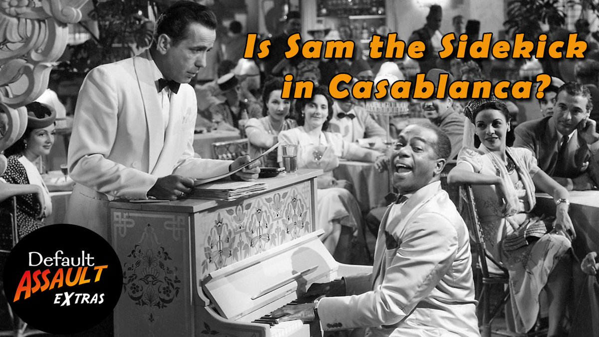 VIDEO: We all fondly misremember the #CASABLANCA quote &quot;Play it again Sam,&quot; but how important is Sam?  http:// hilaritybydefault.com/2017/09/19/sam -sidekick-casablanca/ &nbsp; …  #PodernFamily<br>http://pic.twitter.com/RkeTGCPx15