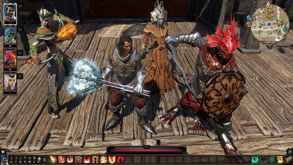 DOS2 Characters