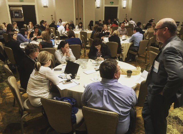 #HigherEducation Crisis Communications simulation happening right now with @BobFinnerty at #casemrp cc @CASEAdvance #HigherEd<br>http://pic.twitter.com/2KFpP8Drjr