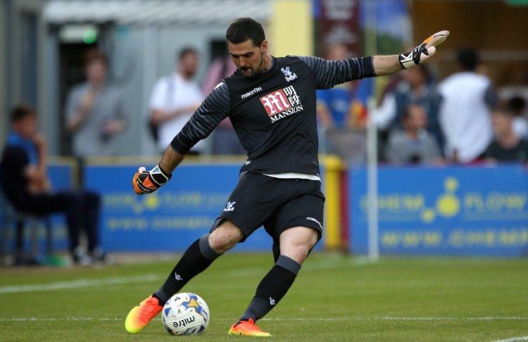 Goalkeeper Battle:  RT - Julian Speroni LIKE - Wayne Hennessey  #CPFC <br>http://pic.twitter.com/OA1UgVTTAM