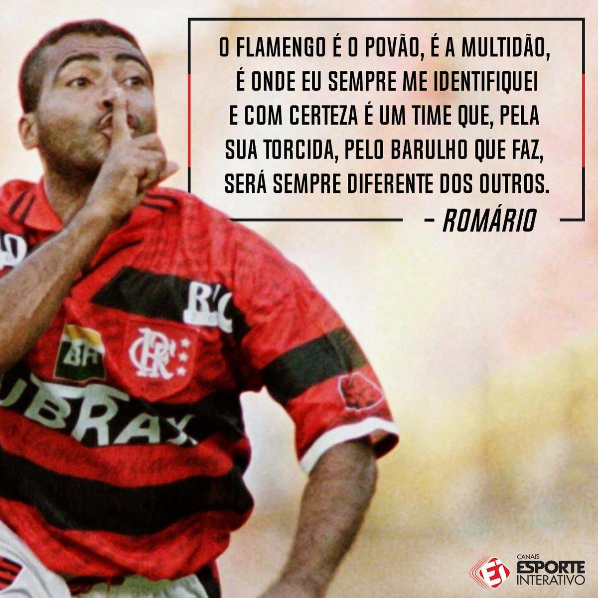Romário foi falar do @Flamengo para a Fox Sports, e olha só o que saiu! O Rubro-Negro está com moral com o Baixinho!