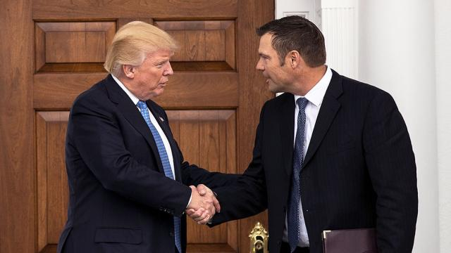 Trump voter fraud commission head defends using private email account https://t.co/NiNdL2H3wW https://t.co/qGrl0vltbh