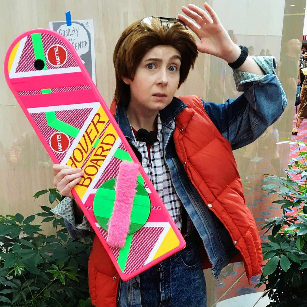 Female marty mcfly cosplay