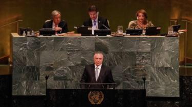 Autores de estudo citado na ONU desmentem Temer sobre queda no desmatamento da Amazônia https://t.co/W20QNndDbL