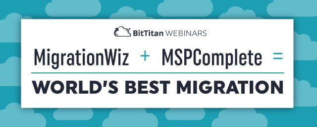[Watch Now On-Demand] Learn how #MSPComplete + #MigrationWiz= The World's BEST #Migration  http:// ow.ly/DlIE30eJUvr  &nbsp;  <br>http://pic.twitter.com/7Uv9Yq950g