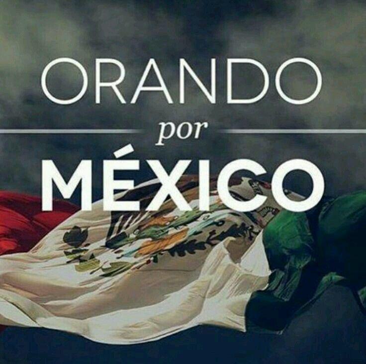 Estamos con vosotros México!! #FuerzaMexico 🙏 Os llevamos en el corazón!!