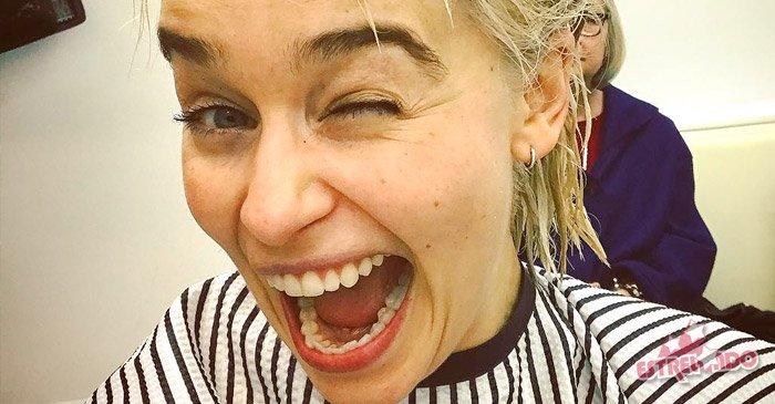 Emilia Clarke platina os cabelos no mesmo tom de Daenerys, de Game of Thrones https://t.co/GWsk7MLcK8