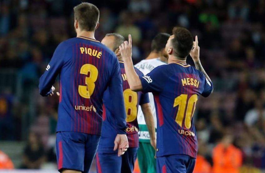 [#Liga🇪🇸] BARCELONE 6-1 EIBAR  Le Barca explose Eibar à domicile notamment grâce à un quadruplé de la pulga Leo Messi ! MA-GNI-FIQUE !