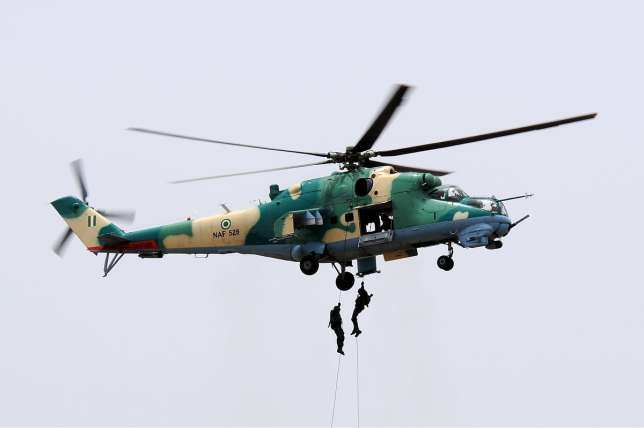 Nigerian Air Force (NAF) has deployed some of its air assets to give cover to ground troops currently on `Operation Python Dance 11 in Port Harcourt.