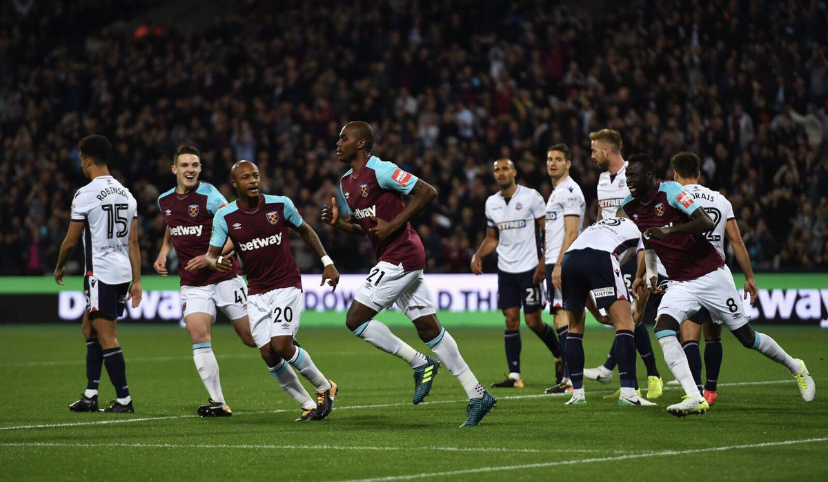 Video: West Ham United vs Bolton Wanderers