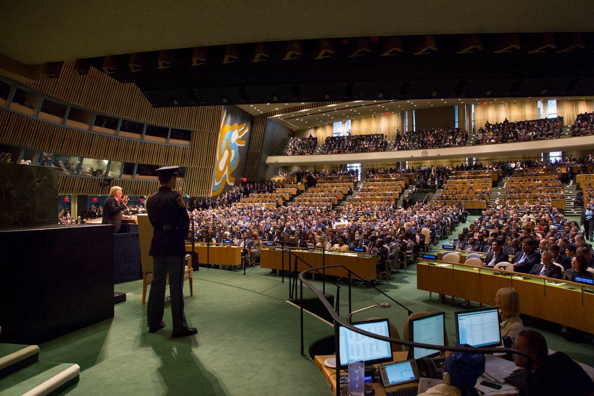 President Trump at #UNGA in Photos: https://t.co/GDN7GBEgre https://t.co/yF9YnyGeUN