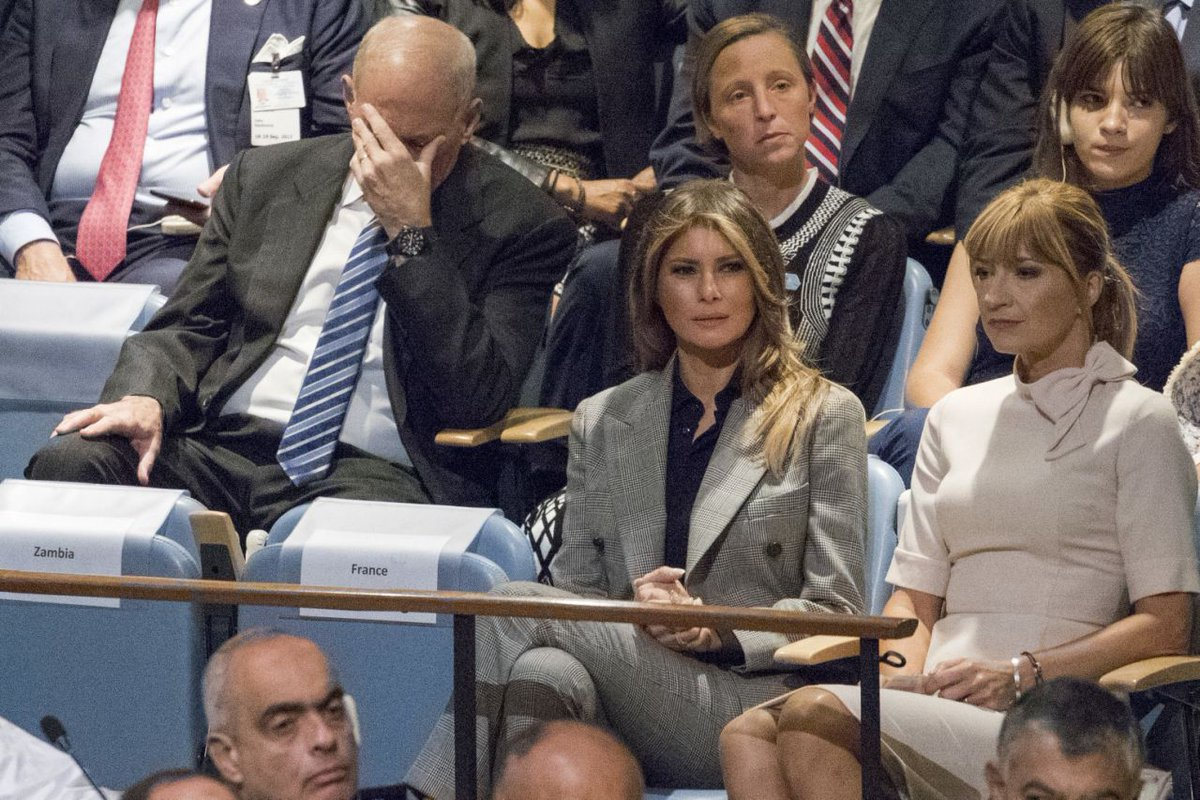 I'm sure General Kelly's body language will be a tremendous comfort to people at risk of losing their healthcare. #ThoughtsAndPrayers #Hero <br>http://pic.twitter.com/X9l5vgsTvG