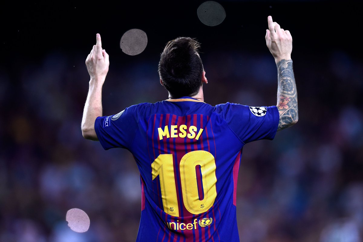 Lionel Messi Lionel Messi Has Now Scored 300 Goals At Camp Nou For