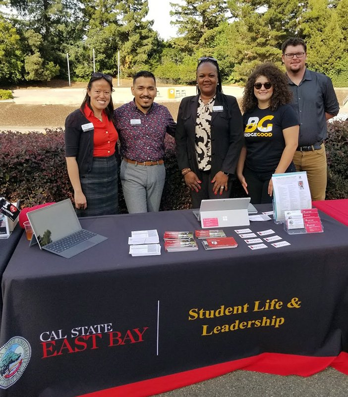 #OaklandDigital had a great time engaging with @CalStateEastBay #StudentLife &amp; #Leadership and #Diversity &amp; #Inclusion directors &amp; students! <br>http://pic.twitter.com/U9XdJdlmQs
