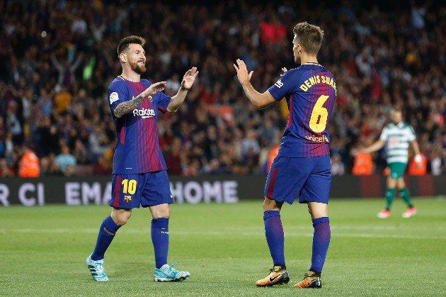 Барселона - Ейбар 6:1. Чотири голи Мессі й ефективність ротації - изображение 4