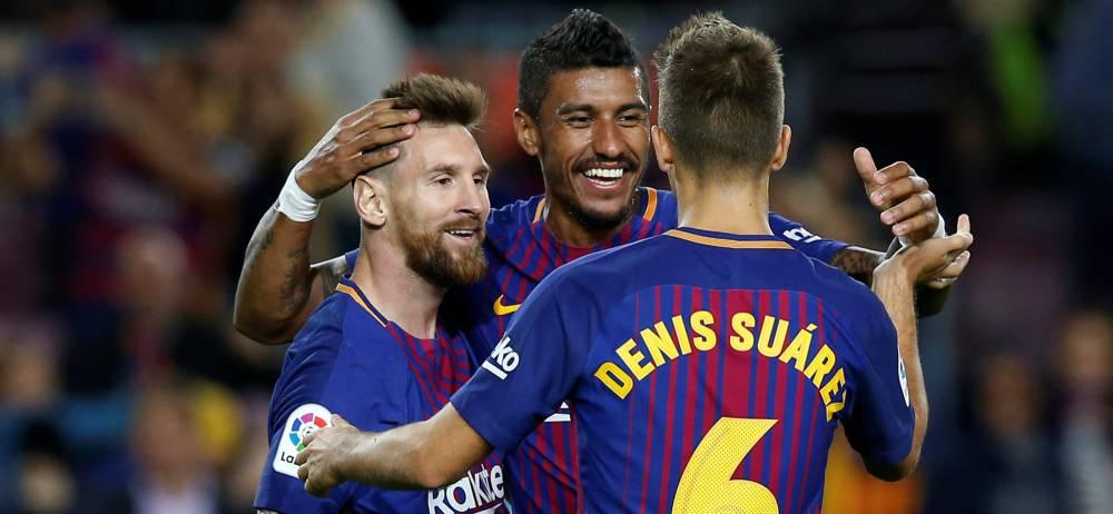 Барселона - Ейбар 6:1. Чотири голи Мессі й ефективність ротації - изображение 5