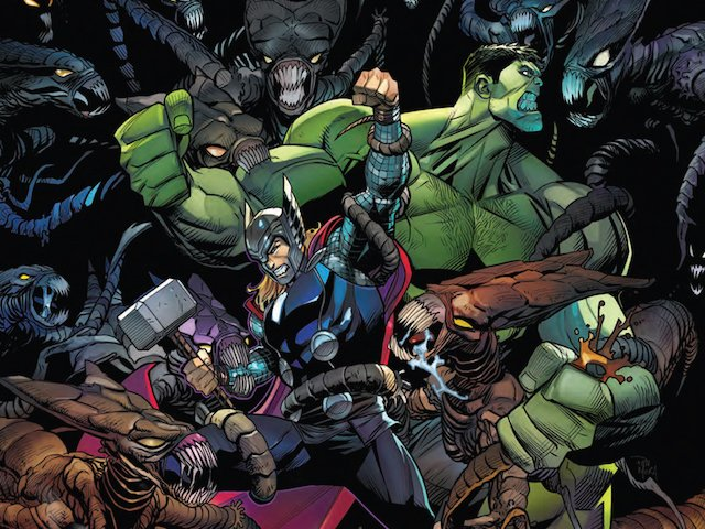 Exclusive preview: @marvel &amp; @comiXology's #Hulk vs #Thor #2, OUT TOMORROW:  http:// comicbook.com/marvel/2017/09 /19/exclusive-marvel-preview-thor-vs-hulk-champions-of-the-universe-/ &nbsp; … <br>http://pic.twitter.com/bVSb7HP4xt