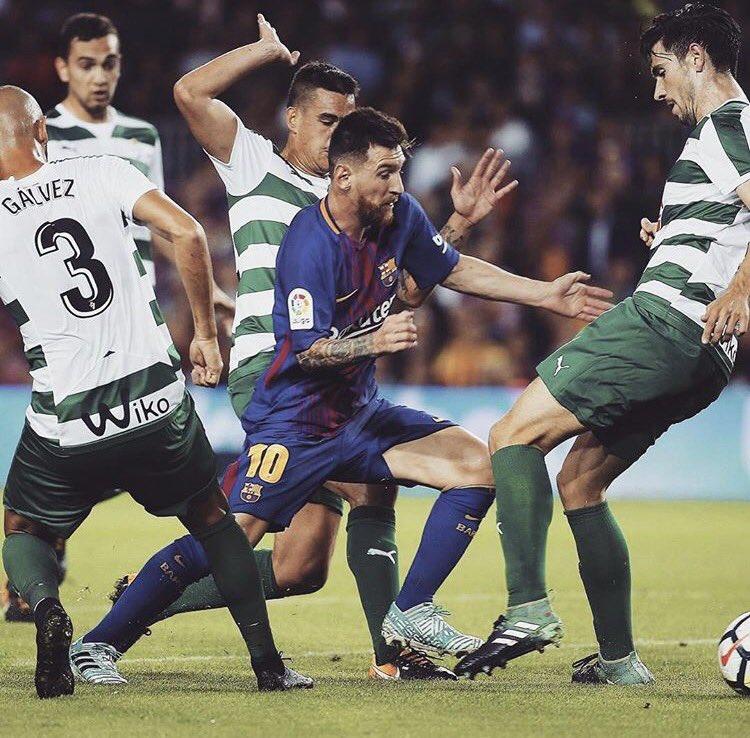 Pela primeira vez na carreira, este jogador marcou 9 gols nos primeiros 5 jogos da La Liga. Tem futuro.