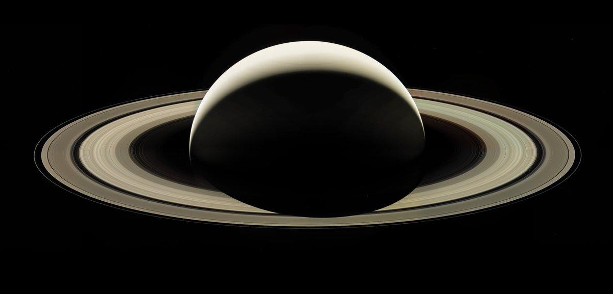 2nd revision of @CassiniSaturn Farewell mosaic using raw data - https://t.co/8UKIOJbBKT #CassiniInspires