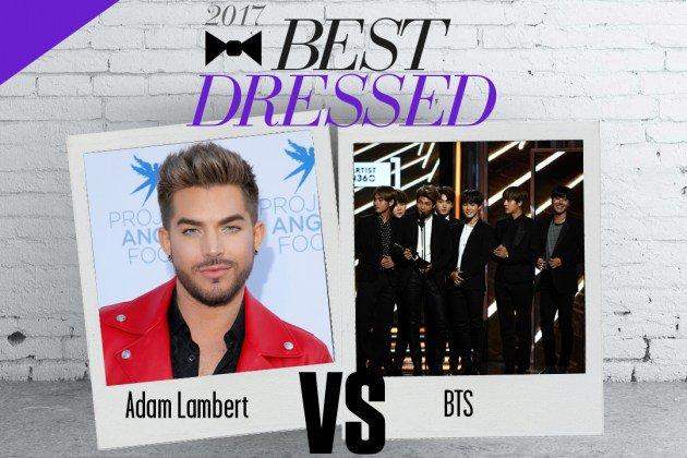 Pop Crush: Adam Lambert vs. BTS: Best Dressed King 2017 [Round 2]#AdamLambert  http:// celebritiesreport.com/2017/09/19/pop -crush-adam-lambert-vs-bts-best-dressed-king-2017-round-2-adamlambert/ &nbsp; … <br>http://pic.twitter.com/B8cSMJ670a