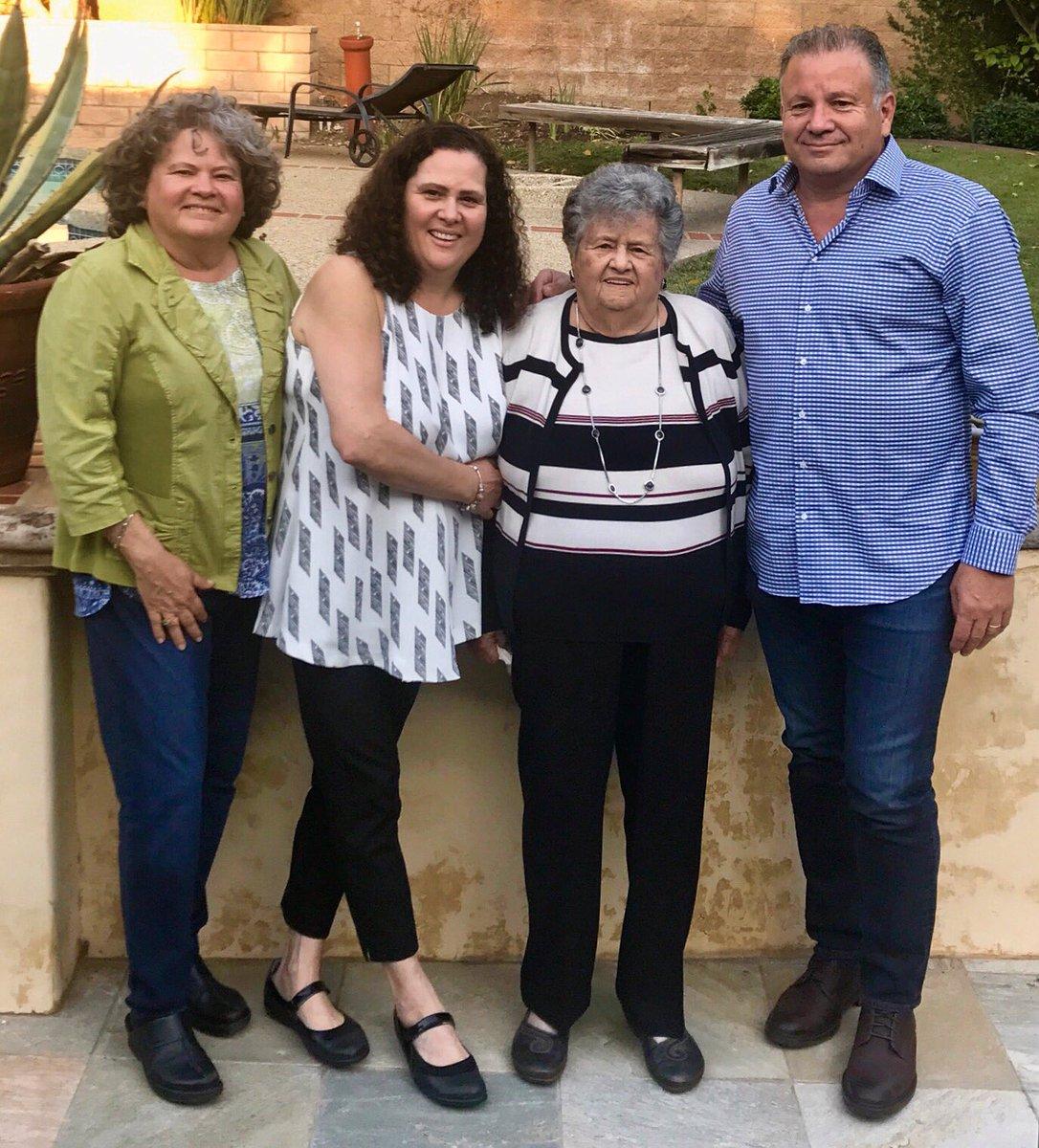 Our founder, Rosa, turns 87 today! She celebrated w her family &amp; a #Portos #Cuban #cake, her original recipe! #HappyBirthdayRosa <br>http://pic.twitter.com/47AxFzniba