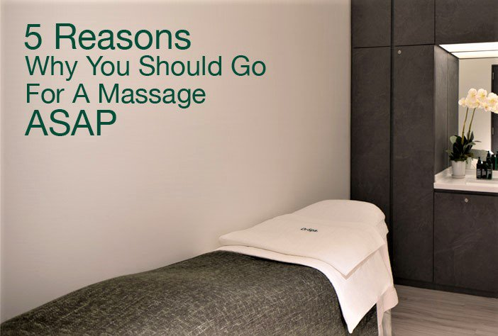 Discover 5 Reasons why you should go for a massage ASAP! https://t.co/OB8ZTi5bB2  #DrSpa #massage https://t.co/jRZwTyKol1