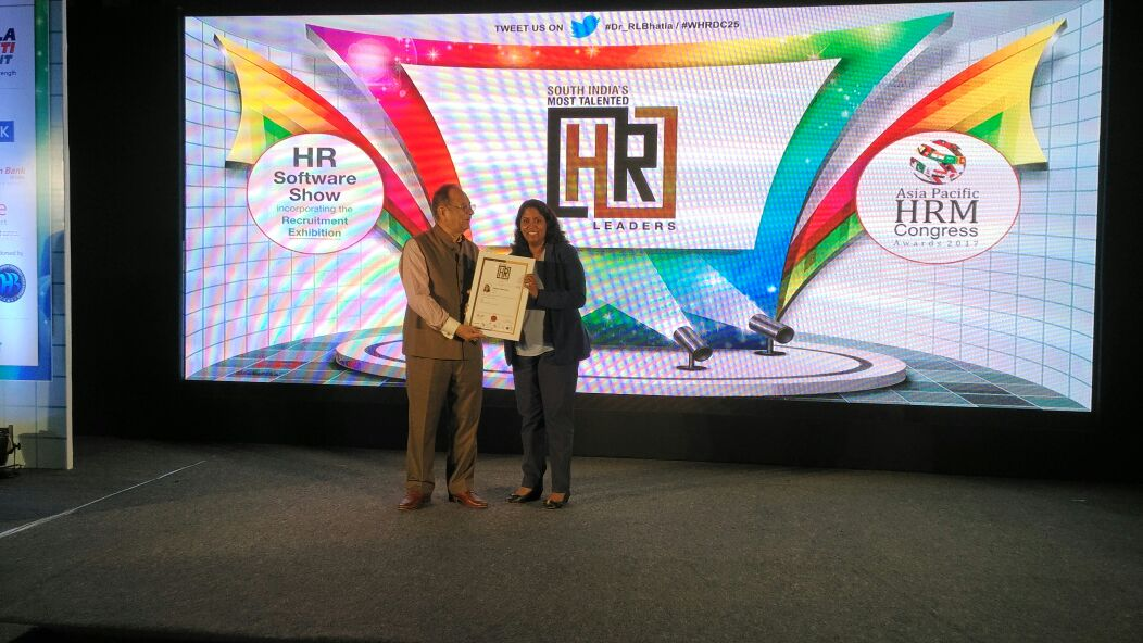 An ordinary person blessed with extraordinary experiences. Thank u #Brillio.  TOP 50 HR Leaders #Asia Pacific Hrm congress <br>http://pic.twitter.com/D3zIlyx5U1
