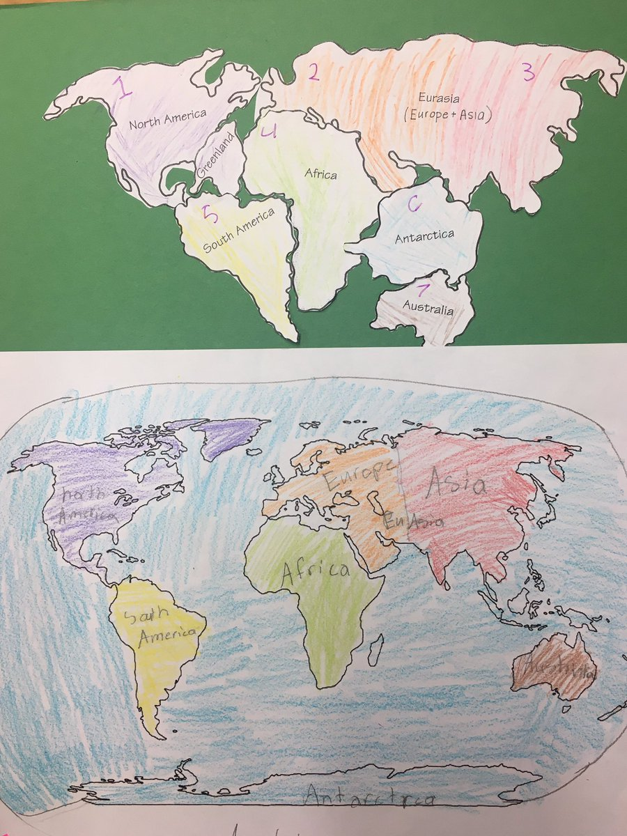 Amy bustos on twitter 3rd graders channeled their inner alfred amy bustos on twitter 3rd graders channeled their inner alfred wegener to figure out how the continents fit together like a puzzle to make pangaea gumiabroncs Gallery