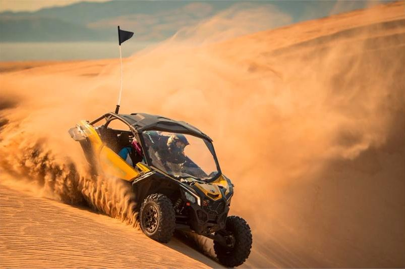 Take on any terrain with confidence. #CanAm #MaverickTurbo<br>http://pic.twitter.com/tFxlpnrXEh