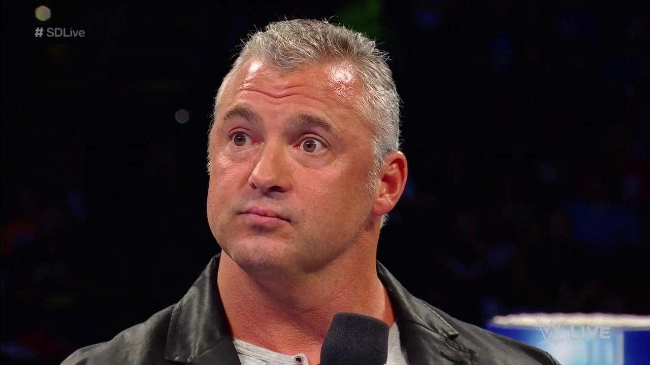Reinstated #SDLive Commissioner @shanemcmahon is kicking off an ALL-NEW #SDLive... and he means BUSINESS! https://t.co/CaghYSufFP