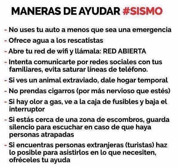 Facilitemos las cosas en estos momentos! #FuerzaMéxico https://t.co/VWNyp1WARJ