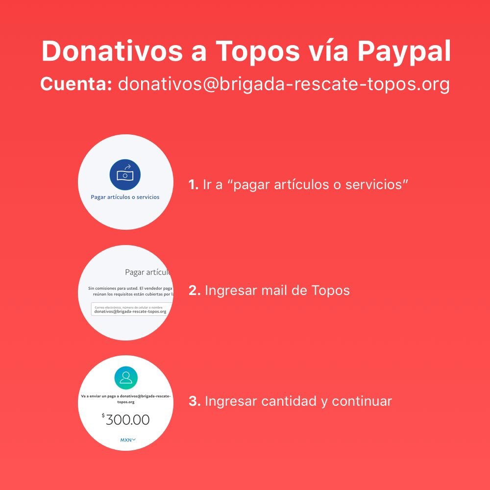 @alvferrero @topos Es a través de PayPal amigo, un abrazo enorme de vuelta!! https://t.co/k4mL9THcJa