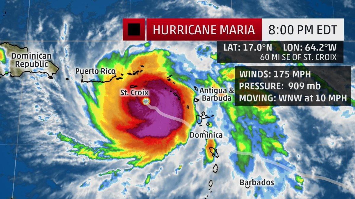 the weather channel on twitter   u0026quot hurricane  maria is