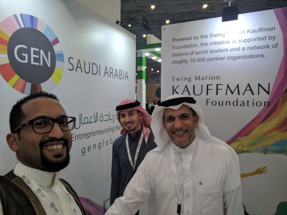 Vice Governor for Sectorial &amp; Regional Development; Mowffaq Jamal @mmjamal #SMEA with @MarwanWJamal #GEN booth  @Biban_expo #BIBAN_17<br>http://pic.twitter.com/V364IrAYOk