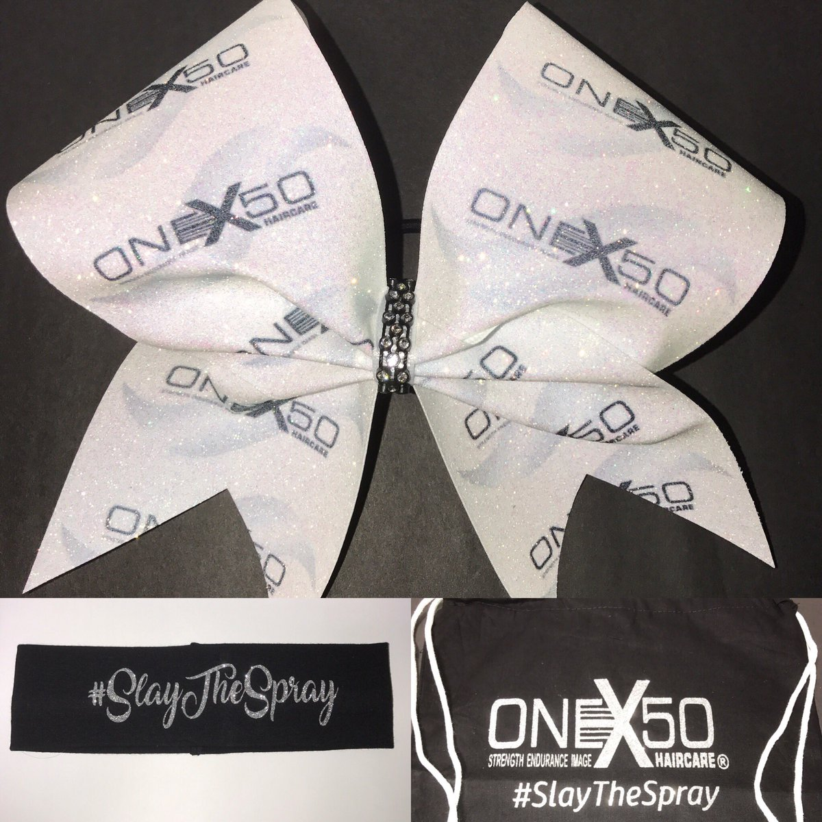 New additions! Check out Instagram on how to order! FLYING OFF THE SHELVES!!! #SlayTheSpray #ONEx50 #OHmyBOW #hair #cheer #dance<br>http://pic.twitter.com/NybBVrD8si