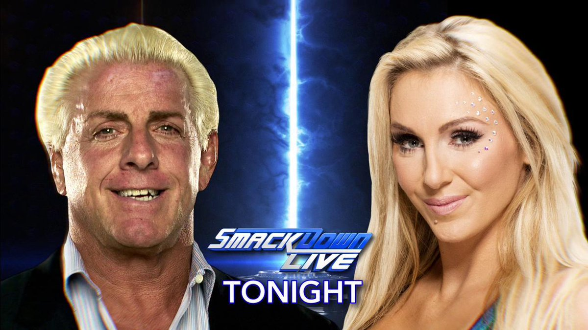 TONIGHT: #TheQueen @MsCharlotteWWE has a special message for the @WWEUniverse. WOOOOOO! #SDLive @RicFlairNatrBoy