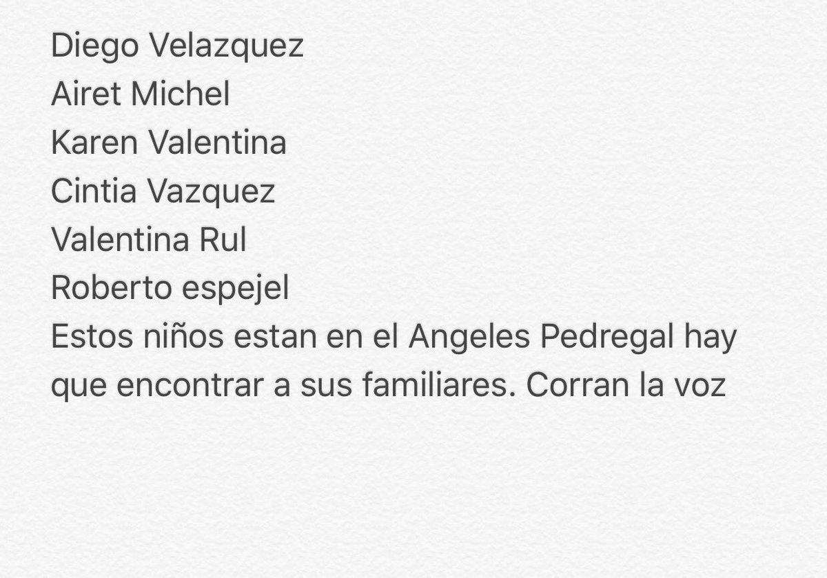 Familiares de estos pequeños que están en el Hospital Ángeles del Pedregal  please RT https://t.co/gC8AwDljyM