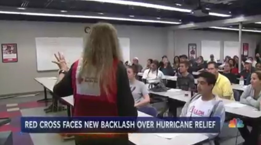 American Red Cross fails to pay funds promised to many Harvey victims