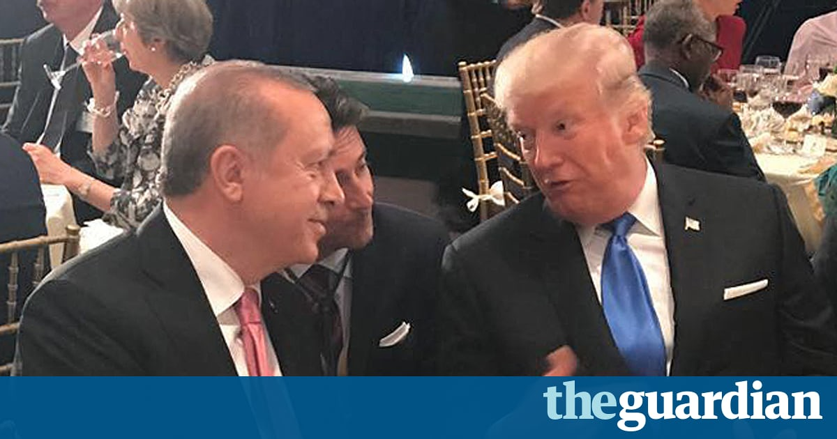 Turkish president: Trump apologized for indictment of security staff in brawl