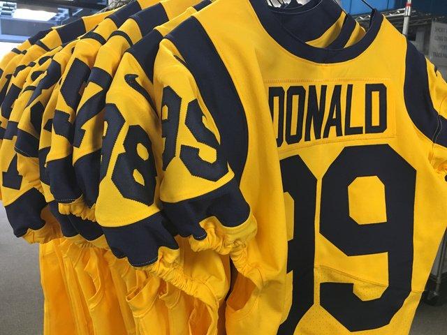 promo code 14bd9 39940 Color Rush Thursday Todd Gurley : Rams Color Rush jerseys ...
