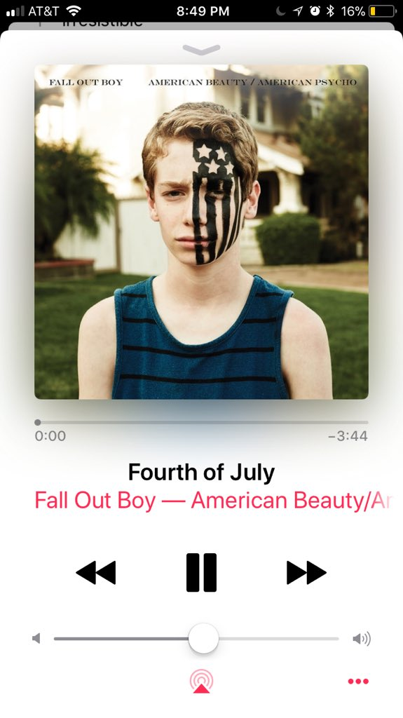For love fall out boy