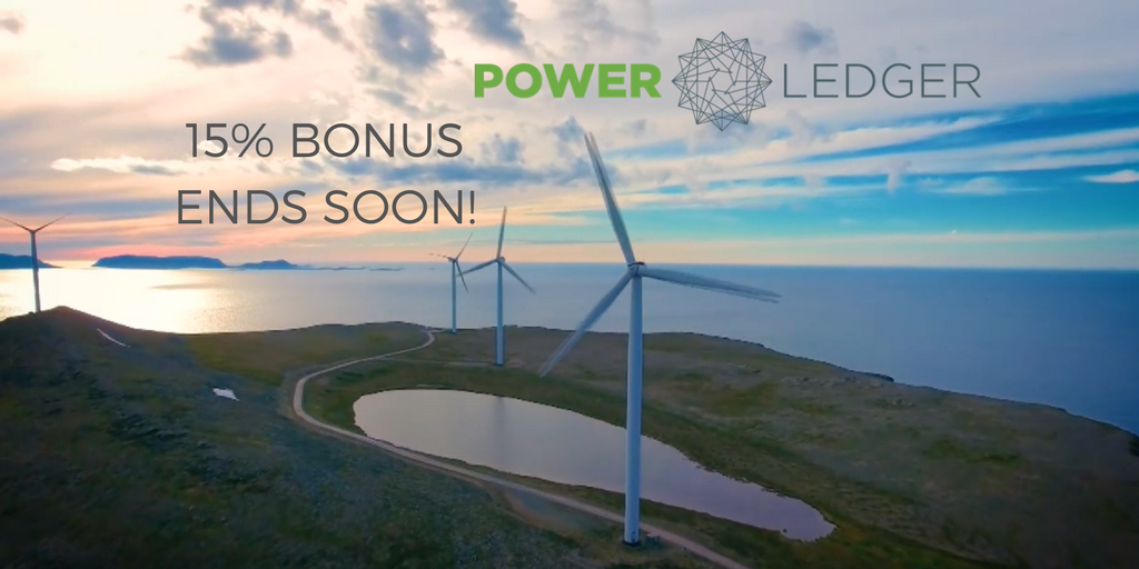 Just 2 days left to make the most of the 15% bonus we're offering in our #ICO!  http:// ow.ly/gaao30ffrt8  &nbsp;   #POWR #blockchain #solar <br>http://pic.twitter.com/OXMLJs64RT