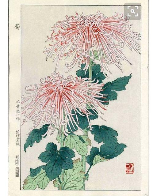 Repost @rakesprogress: Japanese woodblock print #flowers #japan #artoftheday #bitfactory #artwork #dailyart #visualarts #fineart #woodblock <br>http://pic.twitter.com/SWbQPyZOhG