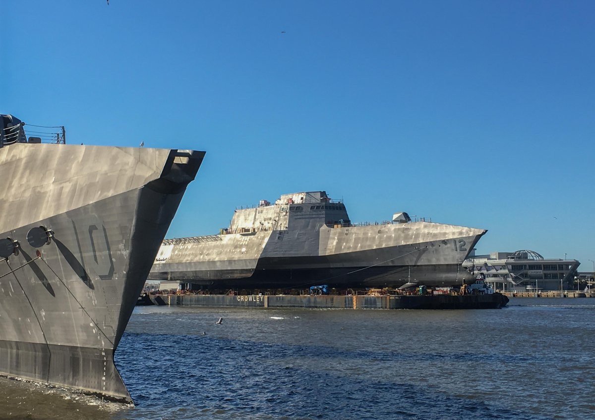 This week the @Austal_USA team delivered #LCS12 #USSOmaha to the @USNavy. #navy #industry #auspol #ausdef    https://www. flickr.com/photos/austalu sa/sets/72157654585634295 &nbsp; … <br>http://pic.twitter.com/VshY6cjm1a